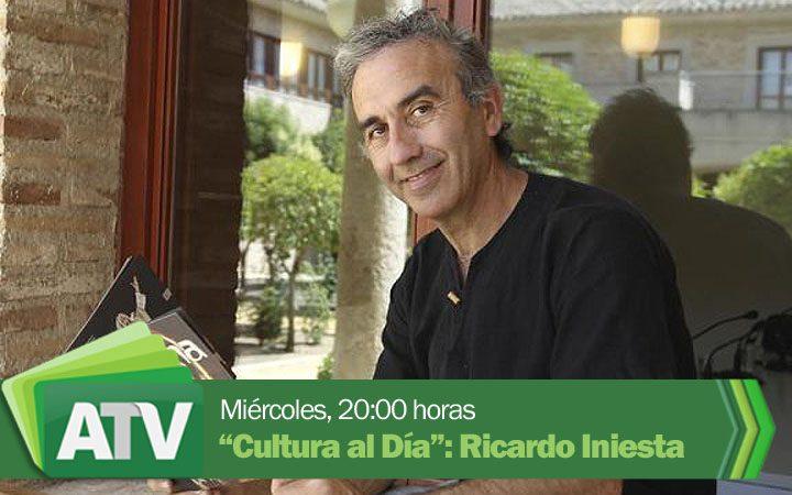 """El director teatral Ricardo Iniesta, en """"Cultura al día"""""""