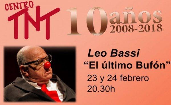 """""""El Último Bufón"""", de Leo Bassi, y """"Celestina, La Tragicomedia"""", de Atalaya, durante el mes de febrero en el Centro TNT"""