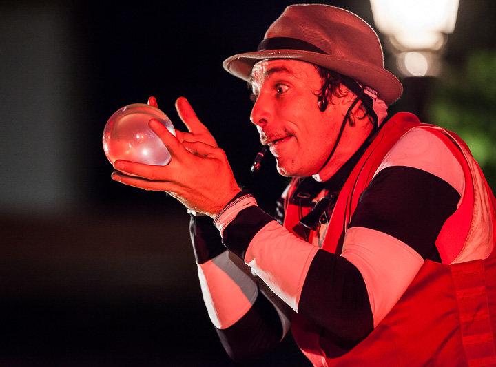Juego, delirio y sorpresas con Kanagadama Circo