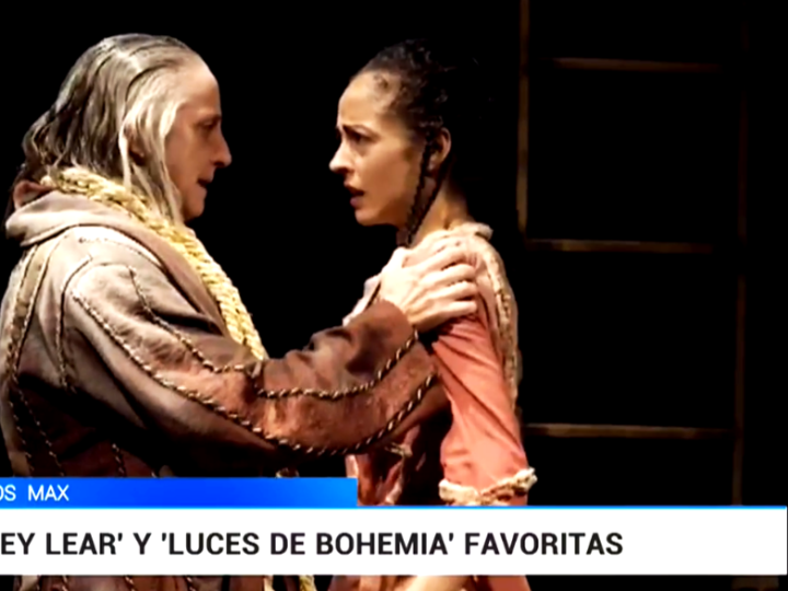 """""""Rey Lear"""" de Atalaya recibe ocho candidaturas a los Premios MAX"""