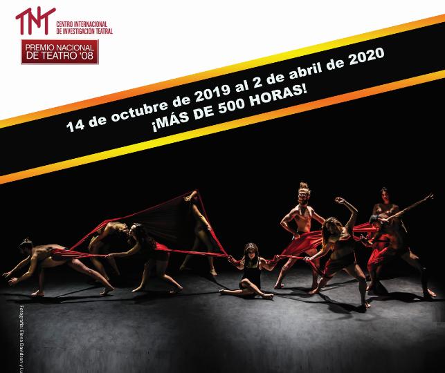ABIERTO EL PLAZO DE PREINSCRIPCIÓN AL  XXII LABORATORIO INTERNACIONAL DEL ACTOR DE TNT