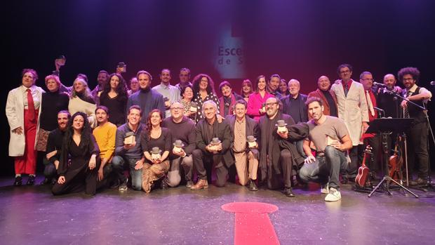 «Rey Lear» gran triunfadora de los premios Escenarios de Sevilla