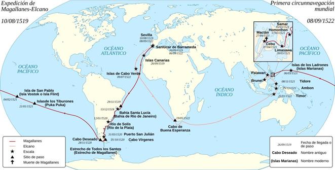 ruta de magallanes