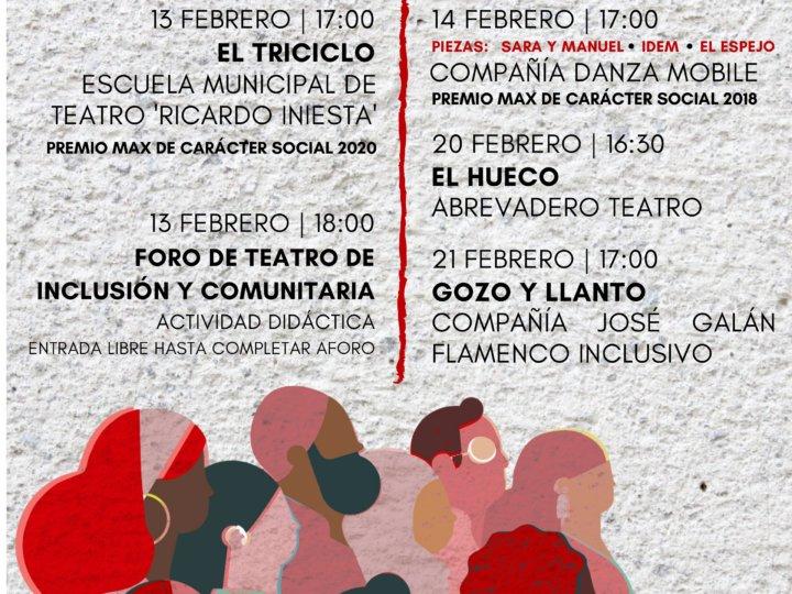 Comienza el III Festival ÉTICO, Encuentro de Teatro Inclusivo y Comunitario en TNT