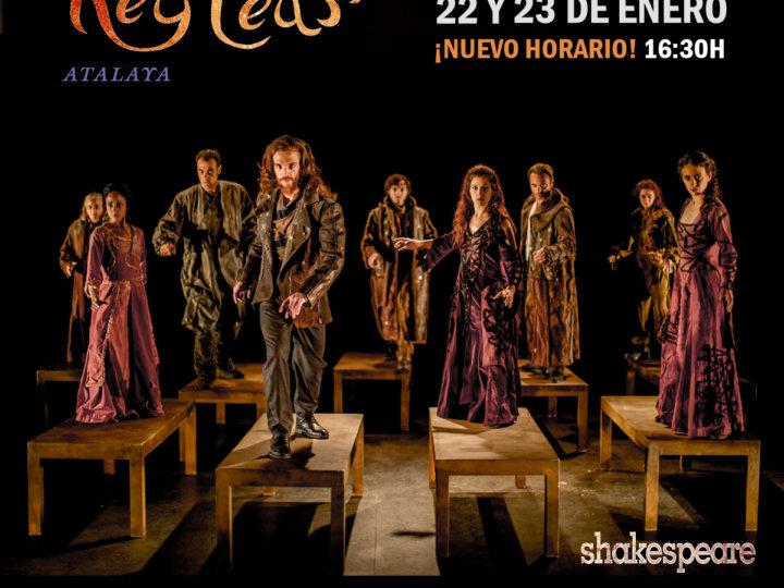 'Rey Lear', el exitoso montaje de Atalaya, vuelve a TNT