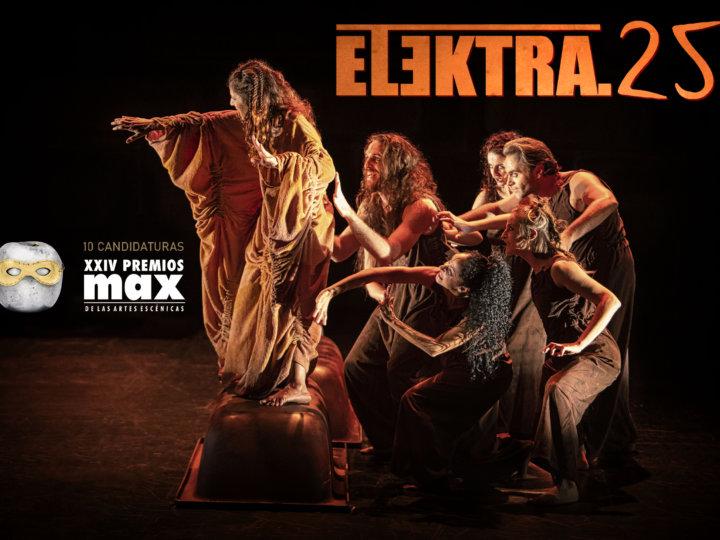'Elektra.25', de Atalaya, obtiene 10 candidaturas a los Premios Max, el mayor número en todo el Teatro Español